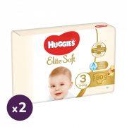 Huggies Elite Soft pelenka 3, 5-9 kg, HAVI PELENKACSOMAG 160 db