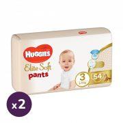 Huggies Elite Soft Pants bugyipelenka 3, 6-11 kg, HAVI PELENKACSOMAG 108 db