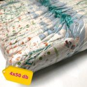 Lupilu pelenka, Maxi 4, 7-18 kg, HAVI PELENKACSOMAG 4x50 db (II. osztályú termék)