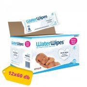 WaterWipes Mega Value Pack természetes baba törlőkendő 12x60 lapos