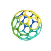 Oball labda játék 10 cm - kékes-zöld (0 hó+)