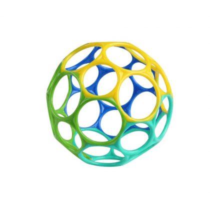 Oball labda játék 10 cm - kék-zöld (0 hó+)
