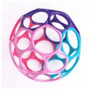 Oball labda játék 10 cm - lilás-rózsaszín (0 hó+)