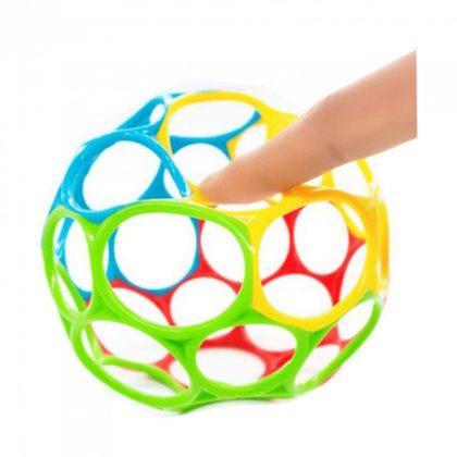 Oball labda játék 10 cm - mix (0 hó+)