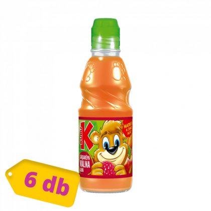Kubu ital - sárgarépa-málna-alma (6x300 ml)