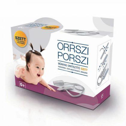 Orrszi-Porszi orrszívó szett