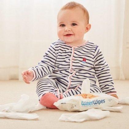 WaterWipes természetes baba törlőkendő 28 db