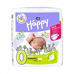 Bella Happy nadrágpelenka, Koraszülött 0, 0-2 kg, 46 db-os