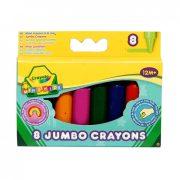 Crayola 8 db színes vastag viaszkréta