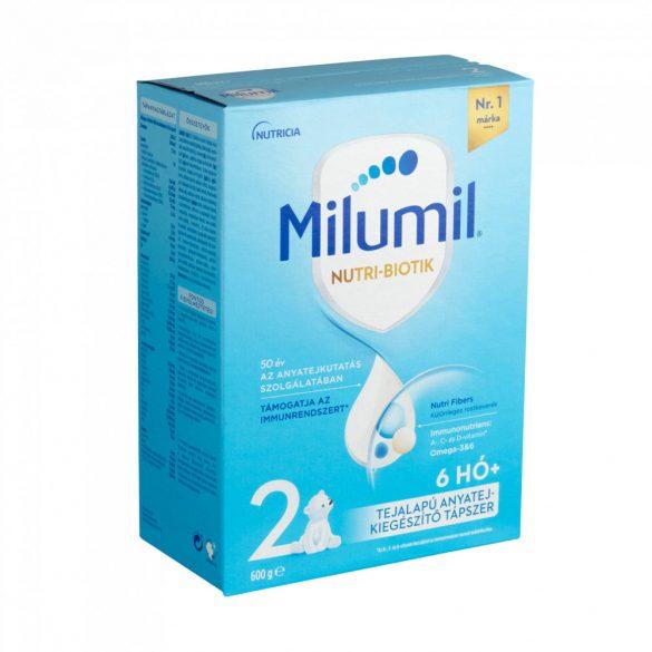 Milumil 2 anyatej-kiegészítő tápszer 6-12 hó (600 g)