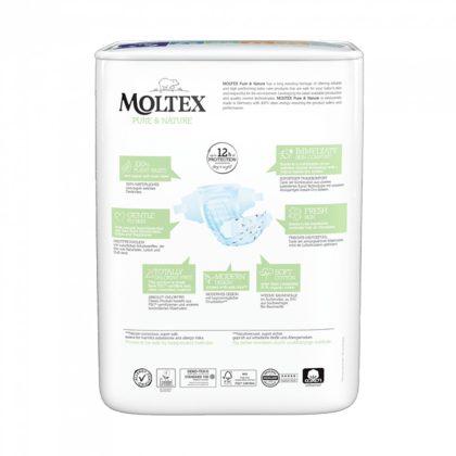 MOLTEX Pure&Nature öko pelenka, XL 6, 16-30 kg, 21 db