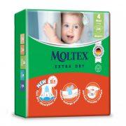 MOLTEX Extra Dry nadrágpelenka, Maxi 4, 9-14 kg, 44 db