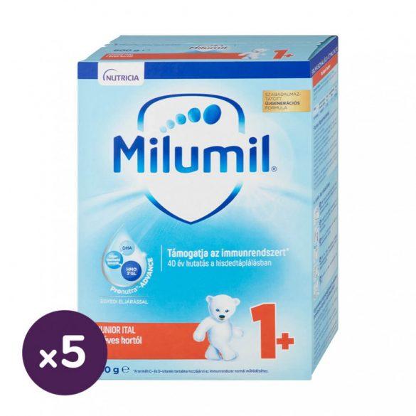 Milumil Junior 1+ gyerekital 12 hó+ (5x600 g) + AJÁNDÉK foszforeszkáló csillagok