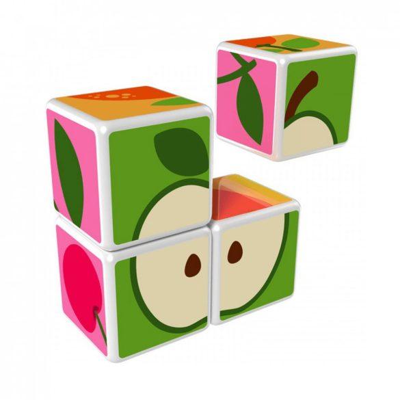 Geomag Magicube gyümölcs (mágneses készségfejlesztő játék)