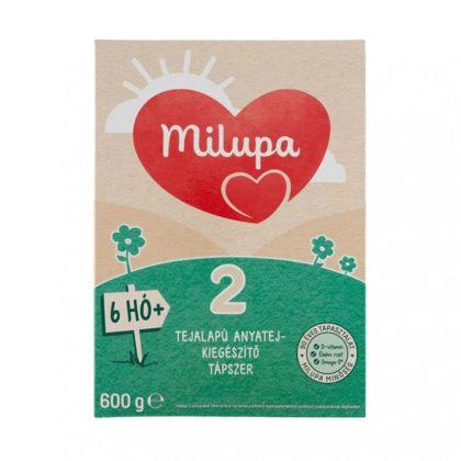 Milupa 2 tejalapú, anyatej-kiegészítő tápszer 6 hó+ (600 g)