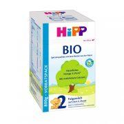 Hipp 2 BIO tejalapú, anyatej-kiegészítő tápszer 6 hó+ (800 g)