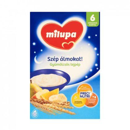 Milupa Szép álmokat! gyümölcsös tejpép 6 hó+ (250 g)