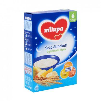 MEGSZŰNT - Milupa Szép álmokat! gyümölcsös tejpép 6 hó+ (250 g)