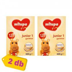 Milupa Junior 1 gyerekital 12 hó+ (2x600 g)