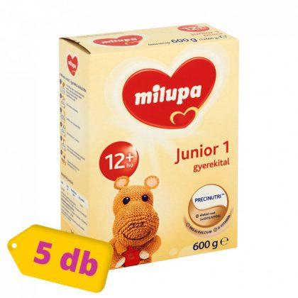 Milupa Junior 1 gyerekital 12 hó+ (5x600 g)