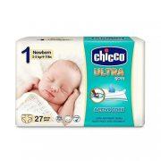 Chicco Ultra pelenka Újszülött 1, 2-5 kg, 27 db