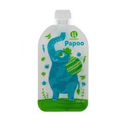 P&M Papoo Original tasak bébiételekhez, elefánt, 6 db