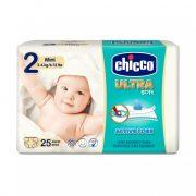 Chicco Ultra pelenka Mini 2, 3-6 kg, 25 db