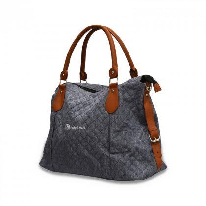 P&M pelenkázó táska Tessa Blue Channels