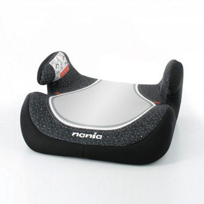 Nania Topo Comfort autós ülésmagasító 15-36 kg - Fekete