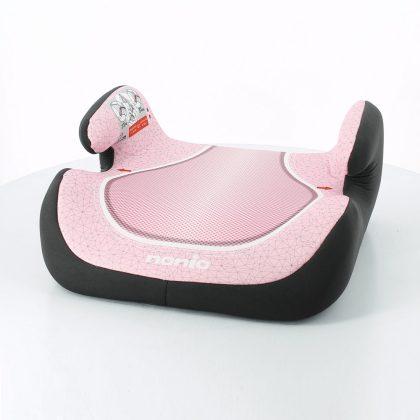 Nania Topo Comfort autós ülésmagasító 15-36 kg - Pink