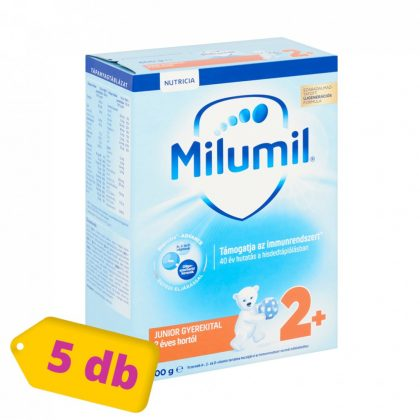 Milumil Junior 2+ gyerekital 24 hó+ (5x600 g)