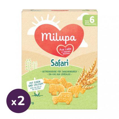 Milupa Szafari keksz 6 hó+ (2x180 g)