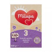 Milupa 3 tejalapú, anyatej-kiegészítő tápszer 9 hó+ (600 g)