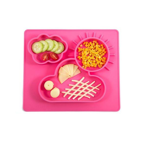 P&M Foodie megosztott tálaló alátét Pink