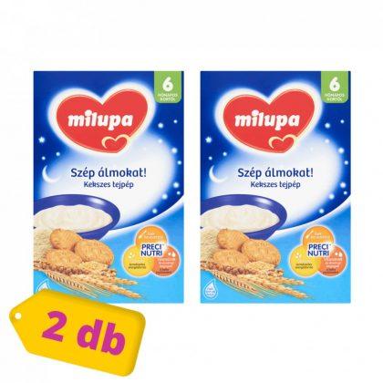 MEGSZŰNT - Milupa Szép álmokat! kekszes tejpép 6 hó+ (2x250 g)