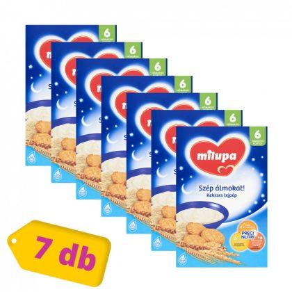 MEGSZŰNT - Milupa Szép álmokat! kekszes tejpép 6 hó+ (7x250 g)