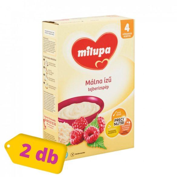 Milupa málna ízű tejberizspép 4 hó+ (2x250 g)