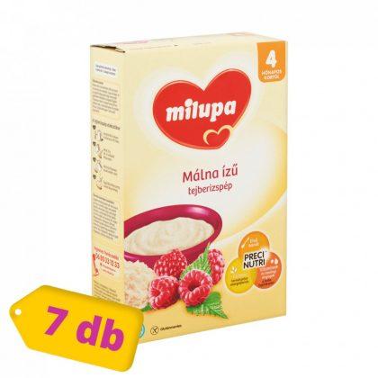 Milupa málna ízű tejberizspép 4 hó+ (7x250 g)