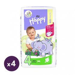 Bella Happy nadrágpelenka Maxi 4, 8-18 kg HAVI PELENKACSOMAG 4x66 db