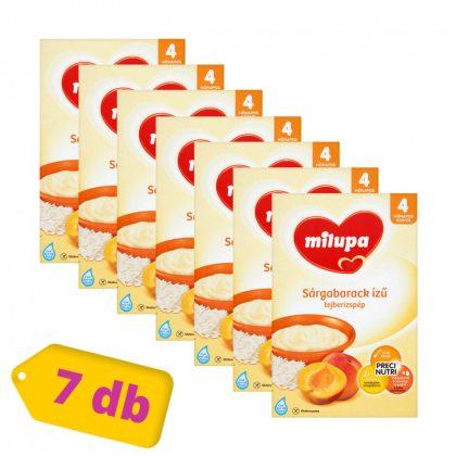 Milupa sárgabarack ízű tejberizspép 4 hó+ (7x250 g)