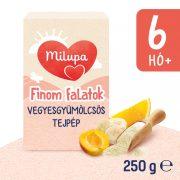 Milupa Finom Falatok, Vegyes gyümölcs ízű tejpép 6 hó+ (250 g)