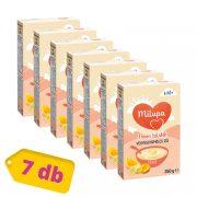 Milupa Finom Falatok, Vegyes gyümölcs ízű tejpép 6 hó+ (7x250 g)