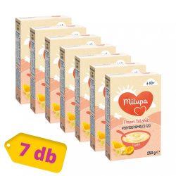 Milupa vegyes gyümölcs ízű tejpép 6 hó+ (7x250 g)