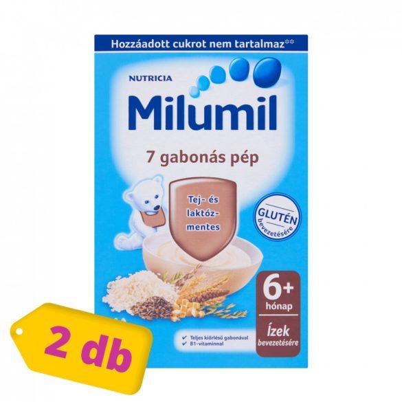 Milumil 7 gabonás pép 6 hó+ (2x225 g)