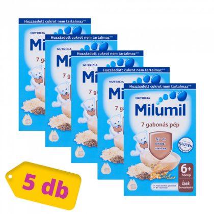 Milumil 7 gabonás pép 6 hó+ (5x225 g)