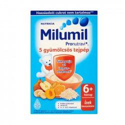 Milumil 5 gyümölcsös tejpép 6 hó+ (225 g)