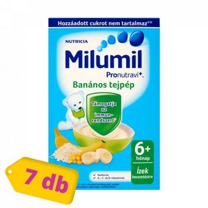 Milumil banános tejpép 6 hó+ (7x225 g)
