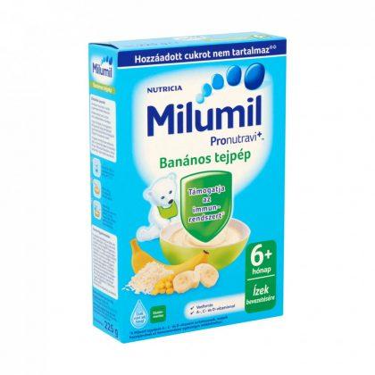 Milumil banános tejpép 6 hó+ (225 g)