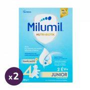 Milumil 4 Junior vanília ízű gyerekital 24 hó+ (2x600 g)