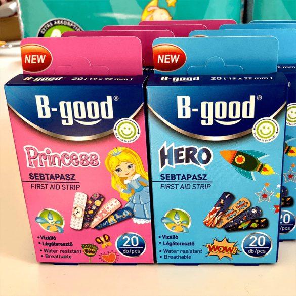 B-Good sebtapasz gyerekeknek 20 db-os, szuperhős